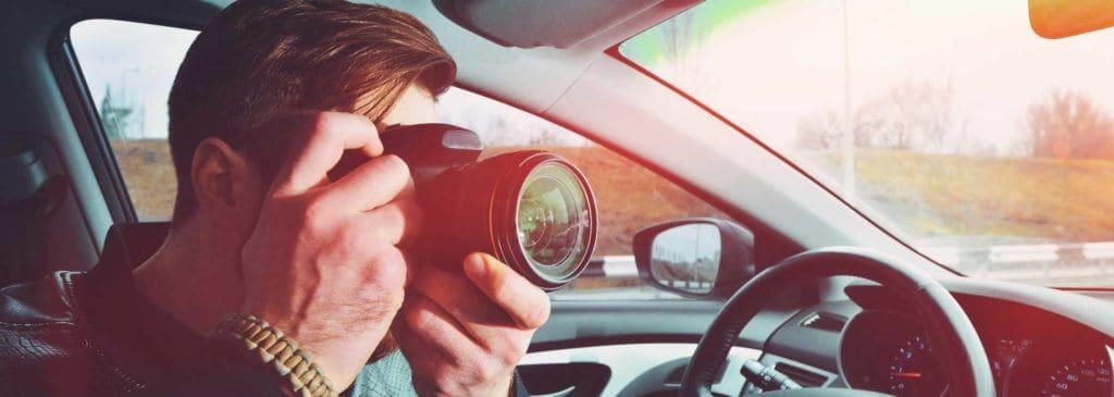 Prive detective camera